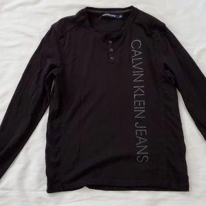 -Calvin Klein long sleeve shirt